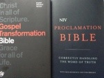 2013 Top posts #6 - Book Review: The Gospel Transformation Bible, and NIV Proclamation Bible (1/3)