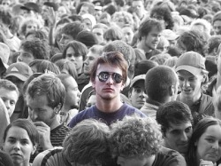 alone in a crowd
