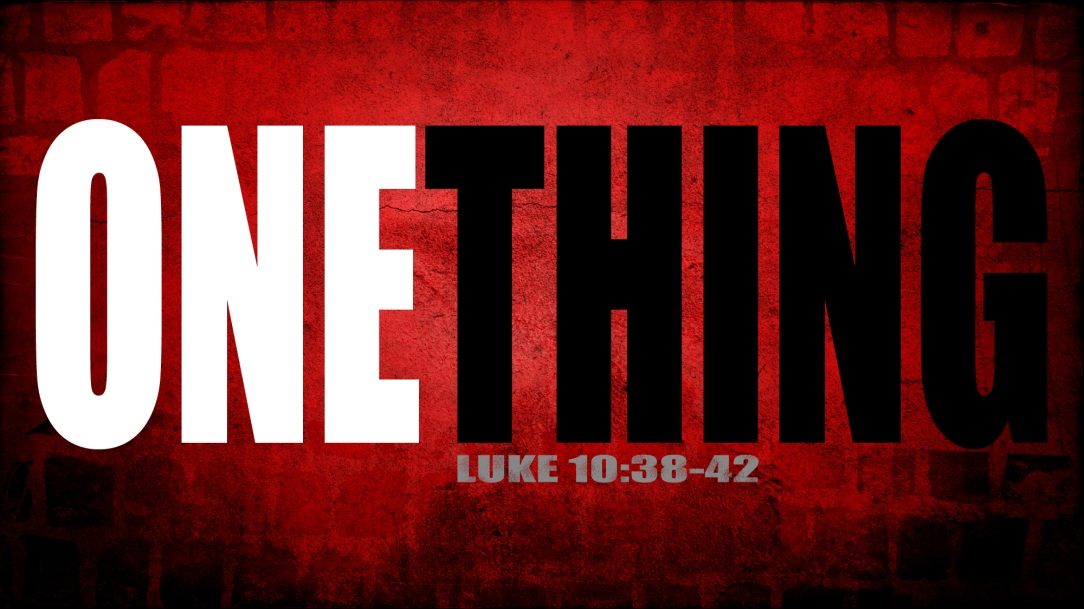 ONE_THING_Main_widescreen