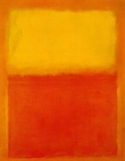 Mark Rothko, Orange and Yellow